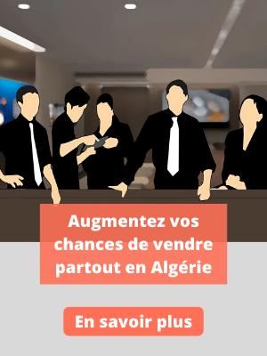 Augmentez vos chances de vendre partout en Algérie