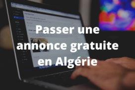 Passer une annonce gratuite en Algérie
